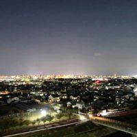 夜景もとてもきれいで癒されます。
