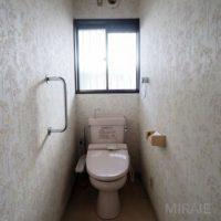 トイレも交換が必須です。