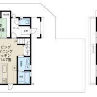 4LDK+S。ユーティリティ性高い納戸がご家族には嬉しいスペース。