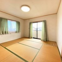 2階東側の部屋は和室。洋室へ変えても良いですが、使い勝手の良い和室は重宝できます。