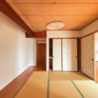 リビングと間続きになっている和室は寝室、客室等の様々な用途でご利用頂けます。