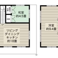 オーソドックスな4LDKタイプ。2階の大きな洋室はお子様の成長に合わせてセパレートできます。