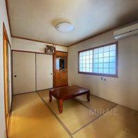 1階にある和室はゆるやかにLDKに繋がっています。