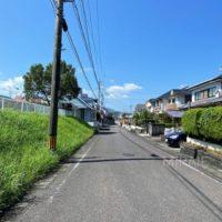 前面道路も約6mと広く、お子様の通学も安心です